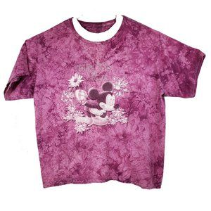 Disney Mickey Mouse Stop and Smell the Flowers 3XL